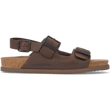 Παπούτσια Άνδρας Σανδάλια / Πέδιλα Mephisto P5117407 καφέ