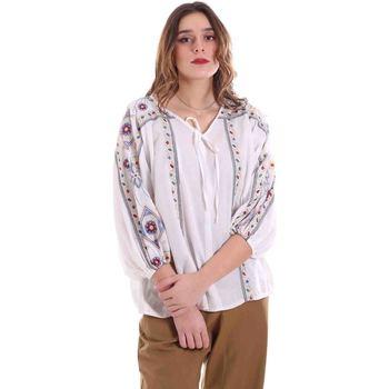 Υφασμάτινα Γυναίκα Μπλούζες Alessia Santi 011SD45039 λευκό