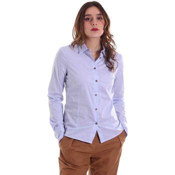 Υφασμάτινα Γυναίκα Πουκάμισα Alessia Santi 011SD45049 Μπλε