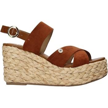 Παπούτσια Γυναίκα Εσπαντρίγια Wrangler WL11640A καφέ
