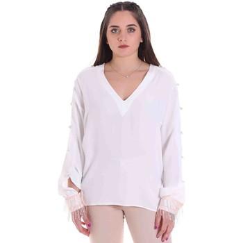 Υφασμάτινα Γυναίκα Μπλούζες Cristinaeffe 0114 2291 λευκό