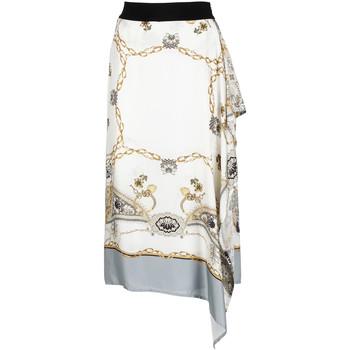 Υφασμάτινα Γυναίκα Φούστες Café Noir JO6080 λευκό