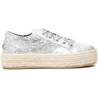 Παπούτσια Γυναίκα Εσπαντρίγια Café Noir DG9570 λευκό