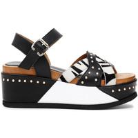 Παπούτσια Γυναίκα Σανδάλια / Πέδιλα Café Noir HH1390 Μαύρος