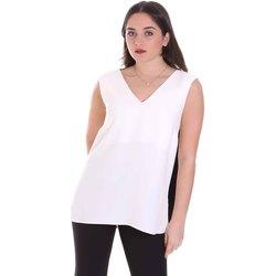 Υφασμάτινα Γυναίκα Μπλούζες Cristinaeffe 1203 2496 λευκό