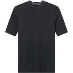 Υφασμάτινα Γυναίκα T-shirt με κοντά μανίκια Calvin Klein Jeans J20J215230 Μαύρος