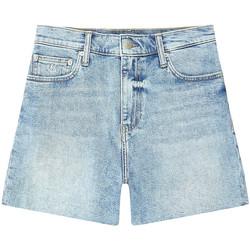Υφασμάτινα Γυναίκα Σόρτς / Βερμούδες Calvin Klein Jeans J20J215897 Μπλε