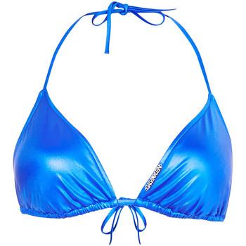 Υφασμάτινα Γυναίκα Μαγιό μόνο το πάνω ή κάτω μέρος Calvin Klein Jeans KW0KW01246 Μπλε