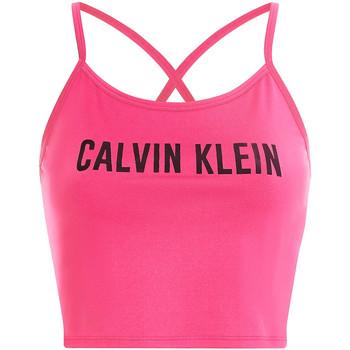 Υφασμάτινα Γυναίκα Αθλητικά μπουστάκια  Calvin Klein Jeans 00GWS1K163 Ροζ
