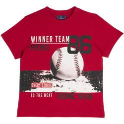 Υφασμάτινα Παιδί T-shirt με κοντά μανίκια Chicco 09067134000000 το κόκκινο