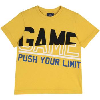 Υφασμάτινα Παιδί T-shirt με κοντά μανίκια Chicco 09067134000000 Κίτρινος