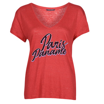 Υφασμάτινα Γυναίκα T-shirt με κοντά μανίκια Ikks CARRY Red