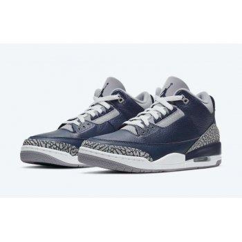 Παπούτσια Χαμηλά Sneakers Nike Air Jordan 3 Midnight Navy Midnight Navy/Cement Grey-White