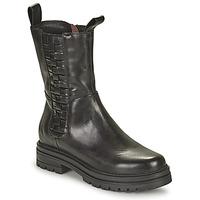 Παπούτσια Γυναίκα Μπότες Mjus DOBLE SQUARE Black