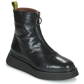 Παπούτσια Γυναίκα Μπότες Mjus BASE ZIP Black