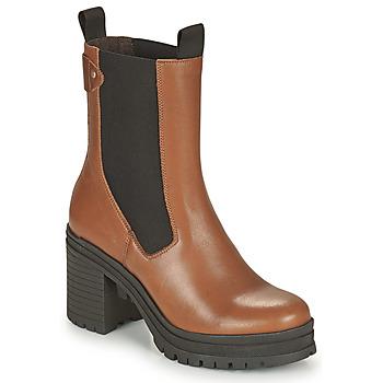 Παπούτσια Γυναίκα Μποτίνια Palladium Manufacture MONA 02 NAP Brown