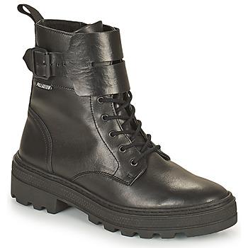 Παπούτσια Γυναίκα Μπότες Palladium Manufacture CULT 03 NAP Black