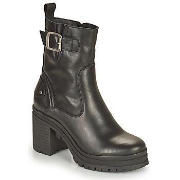 Παπούτσια Γυναίκα Μποτίνια Palladium Manufacture MONA 01 NAP Black