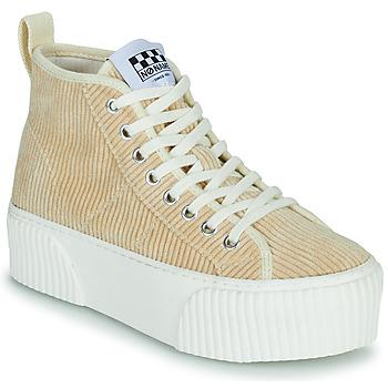 Παπούτσια Γυναίκα Ψηλά Sneakers No Name IRON MID Beige