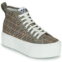 Παπούτσια Γυναίκα Ψηλά Sneakers No Name IRON MID Brown