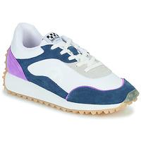 Παπούτσια Γυναίκα Χαμηλά Sneakers No Name PUNKY JOGGER Άσπρο / Μπλέ