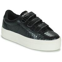 Παπούτσια Γυναίκα Χαμηλά Sneakers No Name PLATO M STRAPS Black