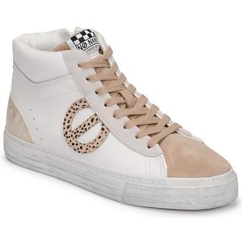 Παπούτσια Γυναίκα Ψηλά Sneakers No Name STRIKE MID CUT Άσπρο