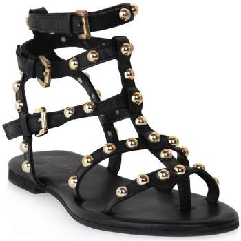 Παπούτσια Γυναίκα Σανδάλια / Πέδιλα Mosaic 1600 VITELLO NERO Nero
