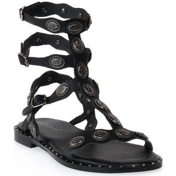 Παπούτσια Γυναίκα Σανδάλια / Πέδιλα Mosaic 3030 VITELLO NERO Nero