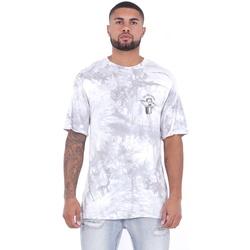 Υφασμάτινα Άνδρας T-shirt με κοντά μανίκια Sixth June T-shirt  Custom Tie Dye blanc/rose