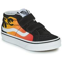 Παπούτσια Αγόρι Ψηλά Sneakers Vans SK8-MID Black / Red