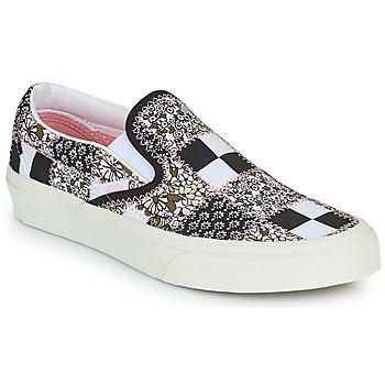 Παπούτσια Slip on Vans SLIP ON Black / Άσπρο / Ροζ