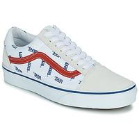 Παπούτσια Χαμηλά Sneakers Vans OLD SKOOL Άσπρο / Μπλέ