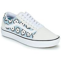 Παπούτσια Γυναίκα Χαμηλά Sneakers Vans OLD SKOOL Άσπρο / Μπλέ