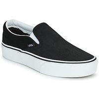 Παπούτσια Γυναίκα Slip on Vans CLASSIC SLIP-ON PLATFORM Black / Άσπρο