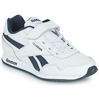 Παπούτσια Παιδί Χαμηλά Sneakers Reebok Classic REEBOK ROYAL CLJOG Άσπρο / Marine