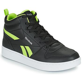 Παπούτσια Παιδί Ψηλά Sneakers Reebok Classic REEBOK ROYAL PRIME Black / Yellow