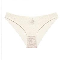 Εσώρουχα Γυναίκα Culottes Underprotection RR1021 LUNA BRIEF OFF WHITE Beige