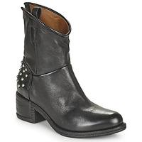 Παπούτσια Γυναίκα Μπότες Airstep / A.S.98 OPEA STUDS Black