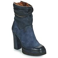 Παπούτσια Γυναίκα Μποτίνια Airstep / A.S.98 BLOC ZIP Μπλέ