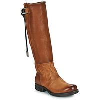 Παπούτσια Γυναίκα Μπότες για την πόλη Airstep / A.S.98 SAINTEC HIGH Camel