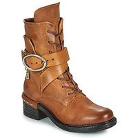 Παπούτσια Γυναίκα Μποτίνια Airstep / A.S.98 NOVASUPER LACE Camel