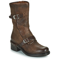 Παπούτσια Γυναίκα Μποτίνια Airstep / A.S.98 NOVASUPER BUCKLE Brown