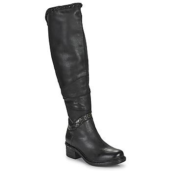 Παπούτσια Γυναίκα Ψηλές μπότες Airstep / A.S.98 NOVASUPER HIGH Black