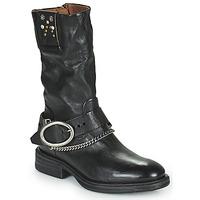 Παπούτσια Γυναίκα Μπότες Airstep / A.S.98 FLOWER BIKE Black