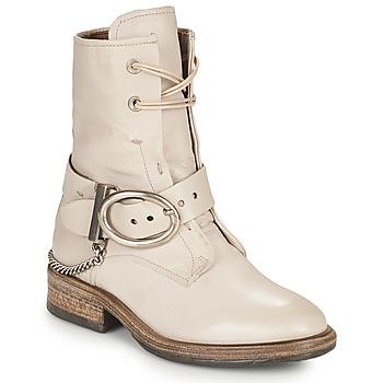 Παπούτσια Γυναίκα Μπότες Airstep / A.S.98 FLOWER BUCKLE Beige