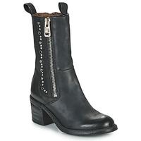 Παπούτσια Γυναίκα Μποτίνια Airstep / A.S.98 JAMAL STUDS Black