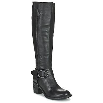 Παπούτσια Γυναίκα Μπότες για την πόλη Airstep / A.S.98 JAMAL HIGH Black