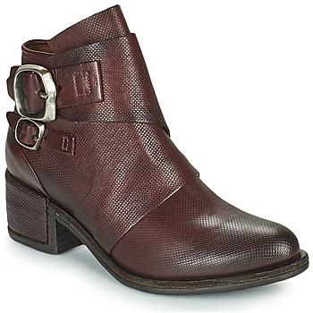 Παπούτσια Γυναίκα Μπότες Airstep / A.S.98 OPEA LOW Bordeaux