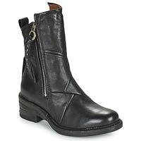 Παπούτσια Γυναίκα Μπότες Airstep / A.S.98 MIRACLE ZIP Black